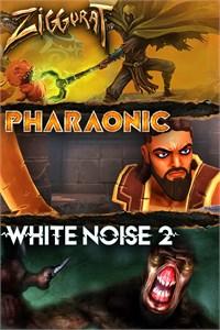 Carátula para el juego Ziggurat - Pharaonic - White Noise 2 Bundle de Xbox 360