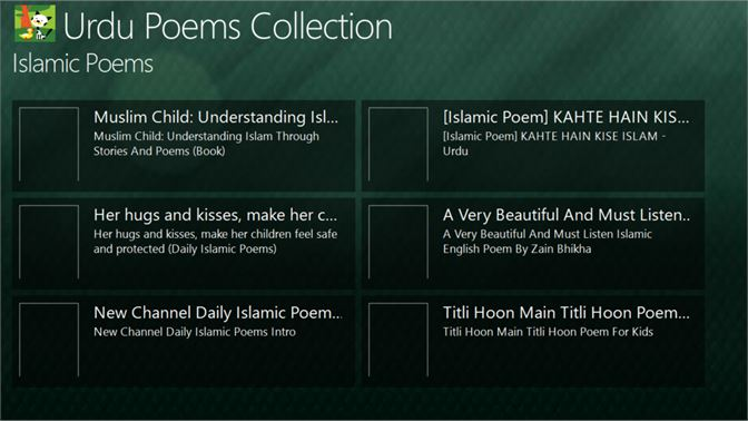 Get Urdu Poems Collection - Microsoft Store