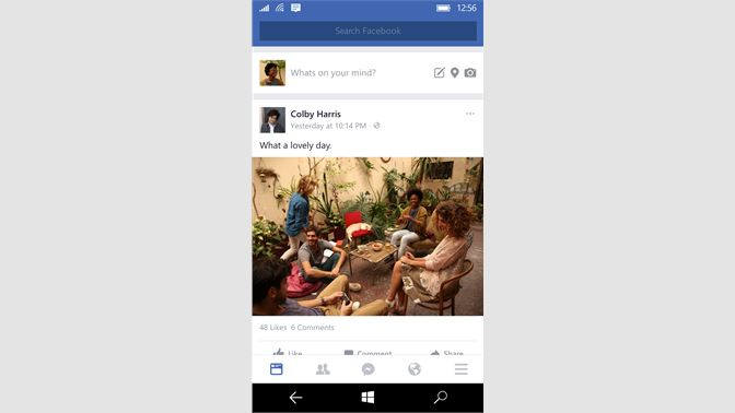 facebook para windows phone 8 1