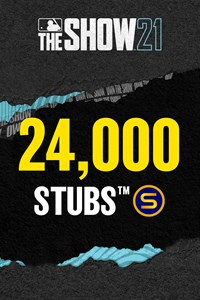 Stubs (24,000) for MLB The Show 21