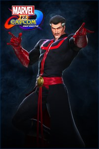 Carátula del juego Marvel vs. Capcom: Infinite- Doctor Strange Illuminati Costume