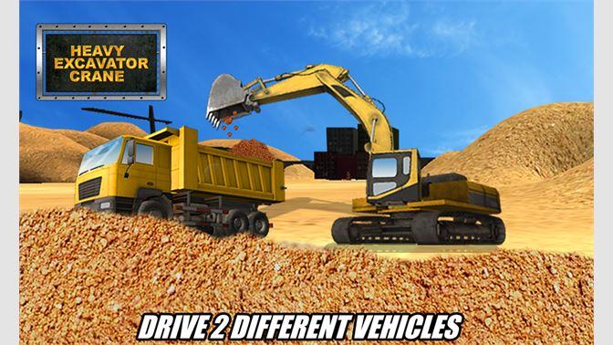 Get Heavy Excavator Crane 3D - Construction Simulator