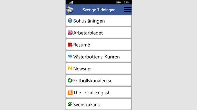 Get Sverige Tidningar - Microsoft Store