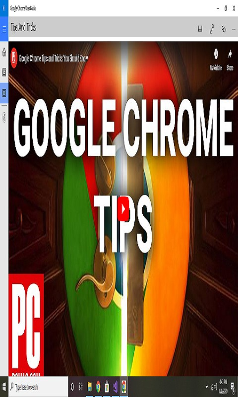 Screenshot 3 de Google Chrome Easy App Guide para windows