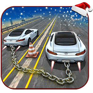 New Xmas Chained Cars Impossible Ramp Stunts 3d 2019