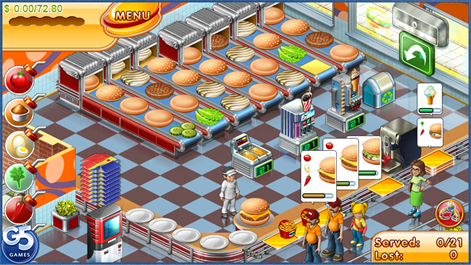 Stand O'Food® 3 HD Screenshots 1