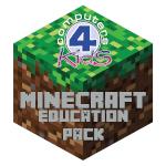 Edu Pack 4 Minecraft Logo