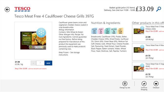 Get Tesco Groceries Microsoft Store En Gb