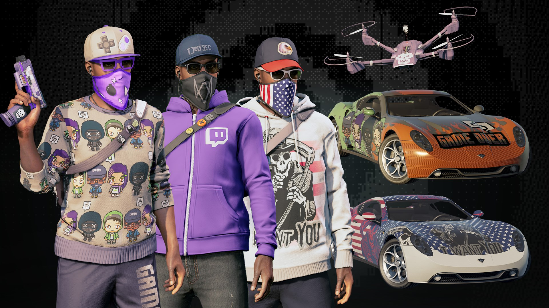 Watch Dogs®2 - Fully Decked Out Bundle