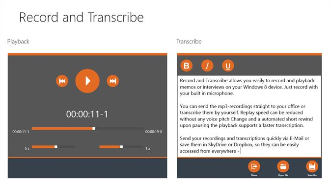 Get Record and Transcribe - Microsoft Store en-HK