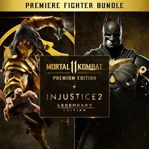Mortal Kombat 11 PE + Injustice 2 LE - Premier Fighter Xbox One