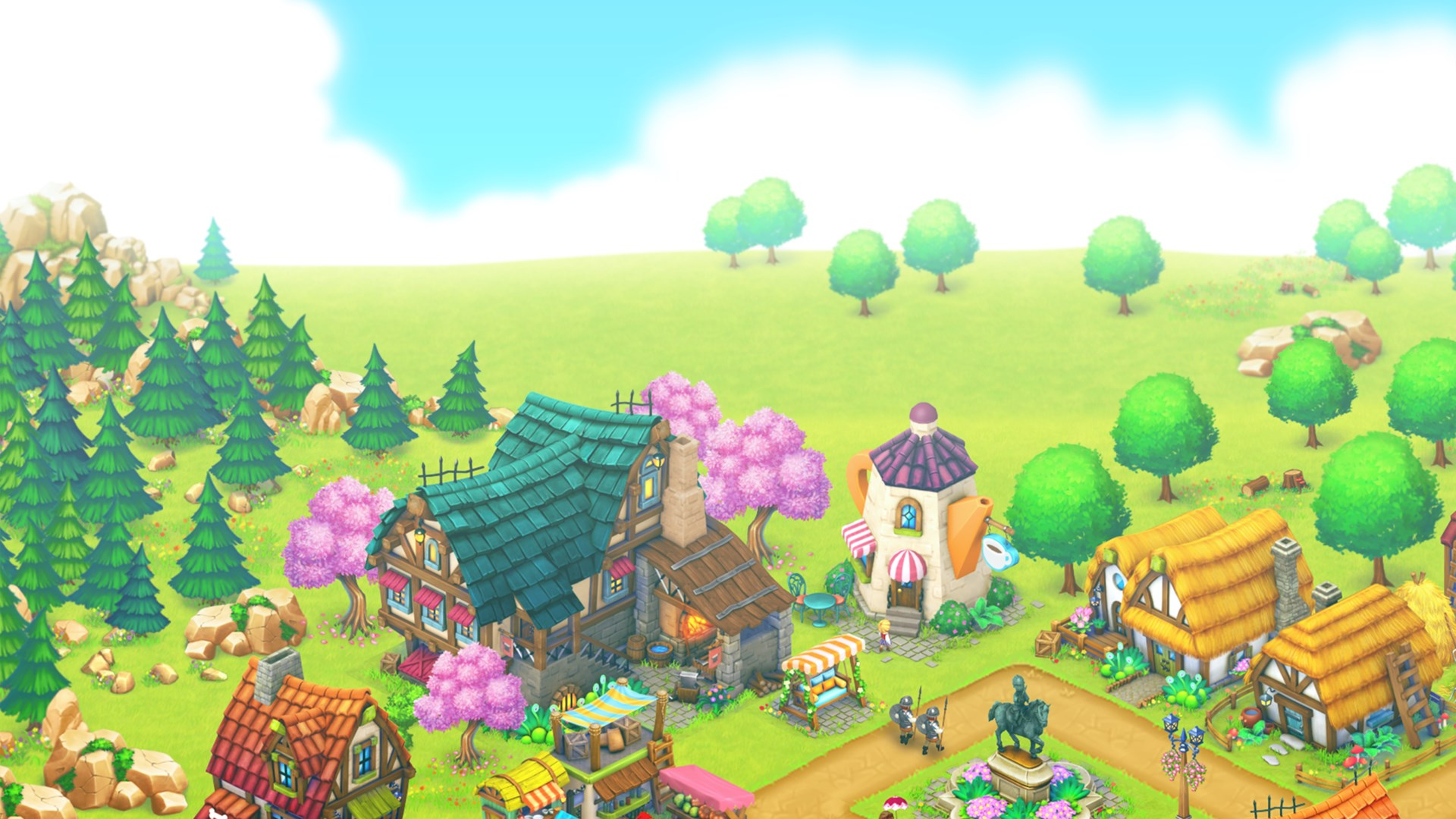 Get Town Village: Farm, Build, Trade, Harvest City - Microsoft