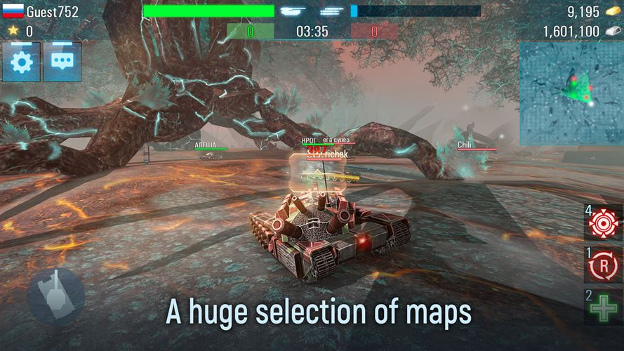 Future Tanks: War Game Online Screenshot