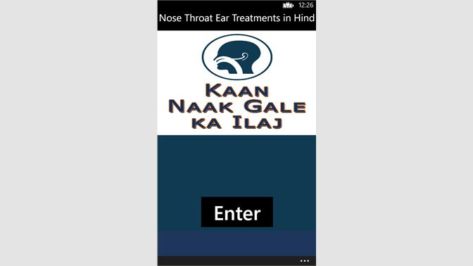 Get Nose Throat Ear Treatments in Hindi - Microsoft Store
