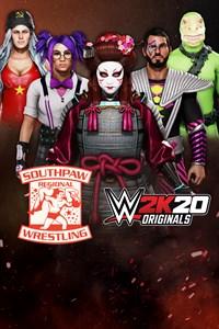Carátula del juego WWE 2K20 Originals: Southpaw Regional Wrestling