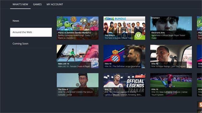 Get EA Access Hub - Microsoft Store