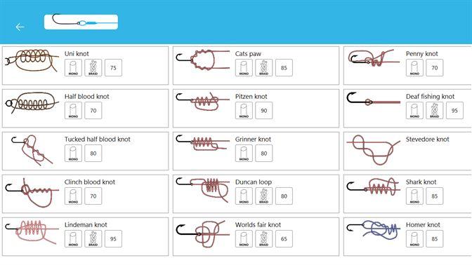 Fishing Knots beziehen – Microsoft Store de AT