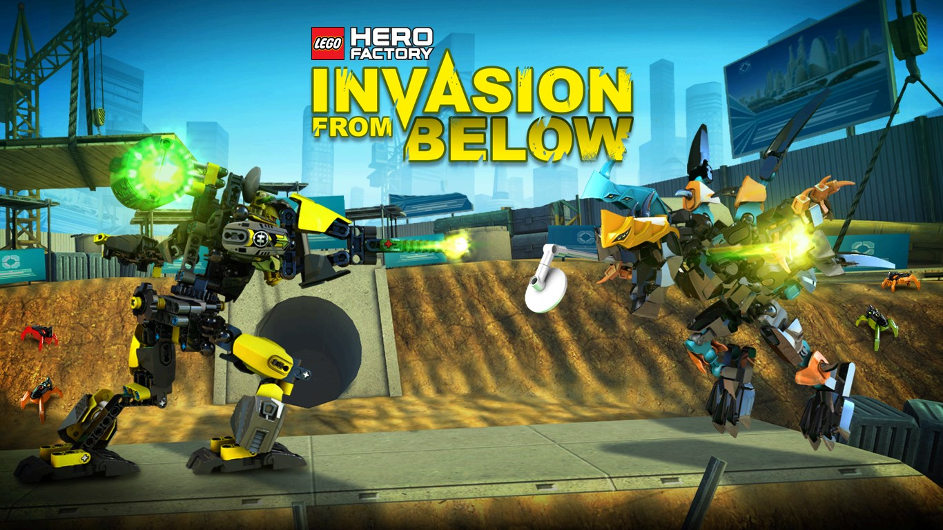 Lego Hero Factory Invasion From Below For Windows 10