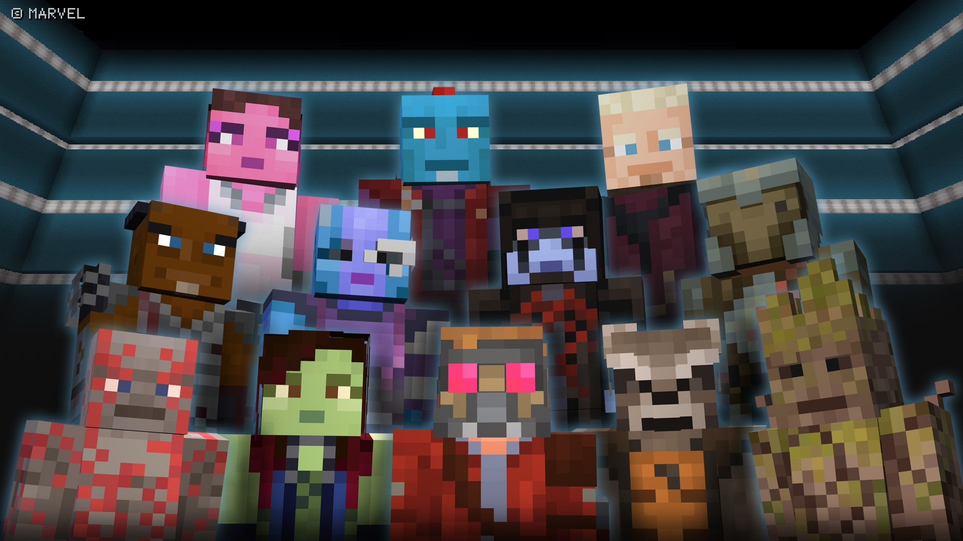Marvel Guardians of the Galaxy Skin Pack