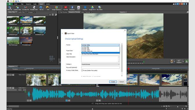 change language videopad editor