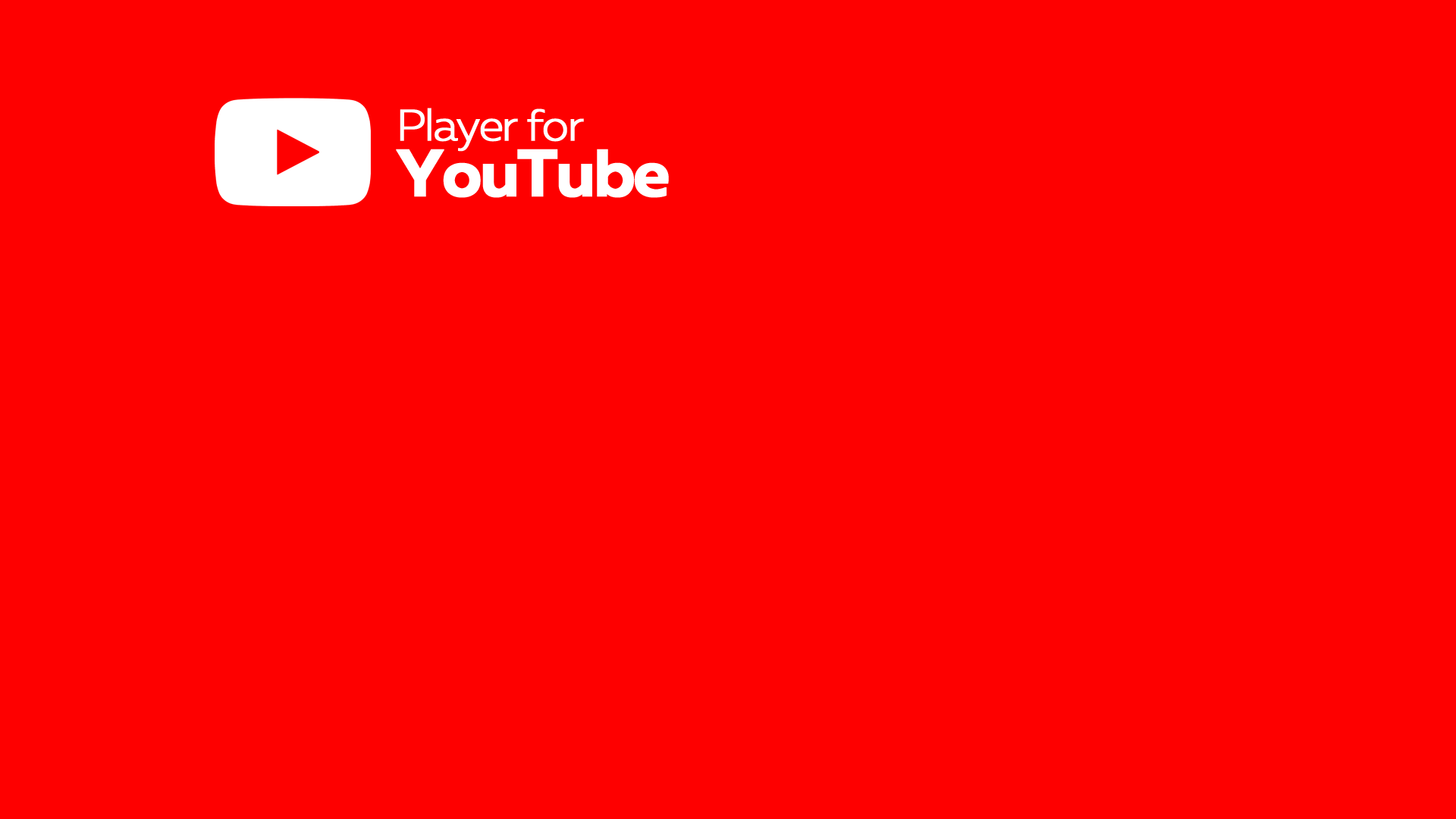 Comprar Player For Youtube Hd Youtube 4k Video Music Tv