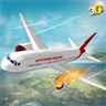 Airplane Rescue Simulator 3D - Pilot Crash Landing