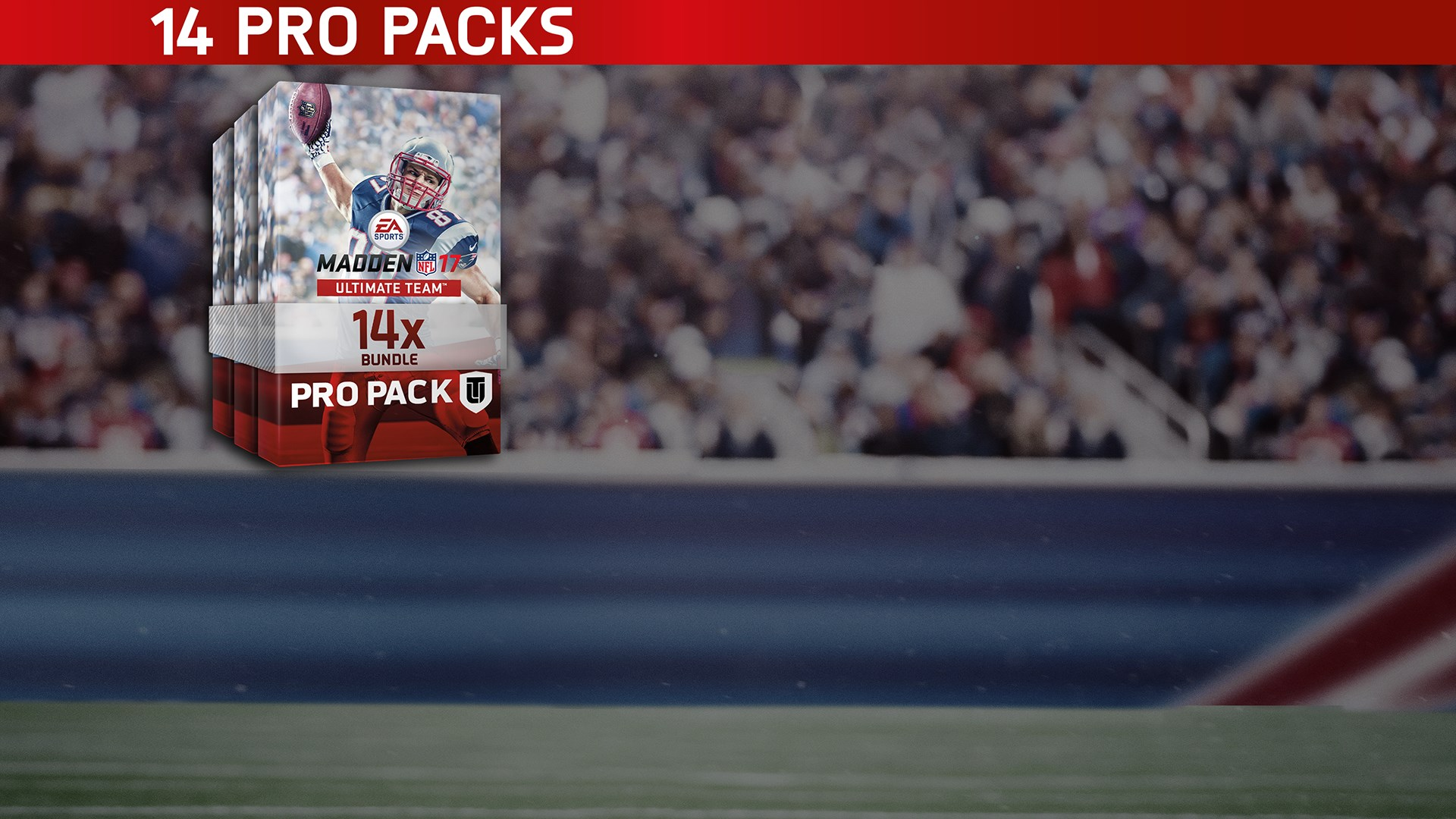 Madden NFL 17 14 Pro Pack Bundle