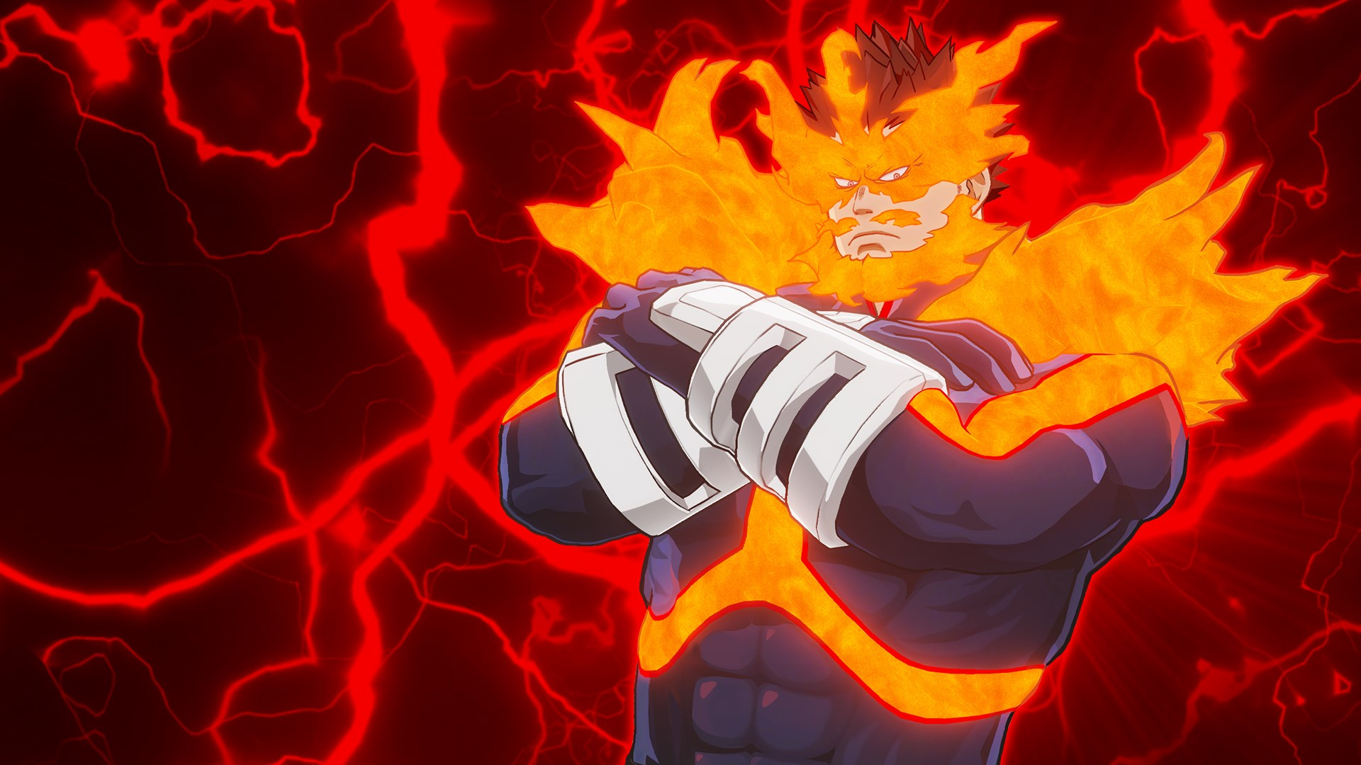 MY HERO ONE'S JUSTICE Playable Character: Pro Hero Endeavor