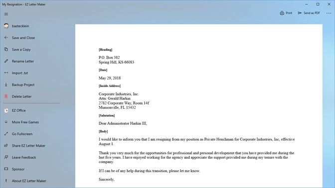 Get EZ Letter Maker - Microsoft Store