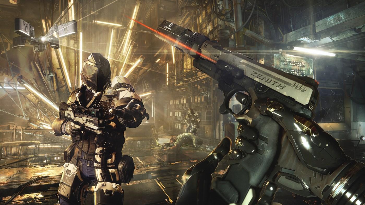 Deus Ex: Mankind Divided PlayStation 4