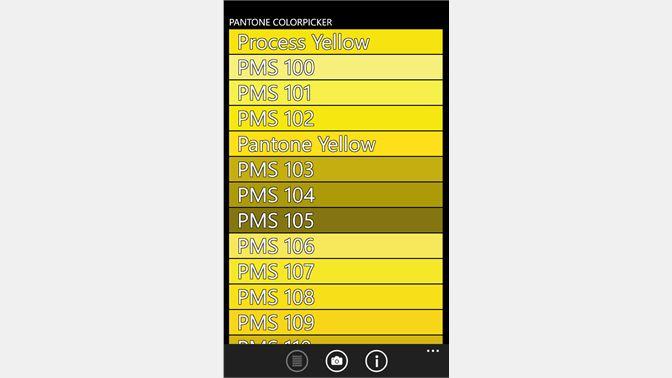 Get Pantone Colorpicker