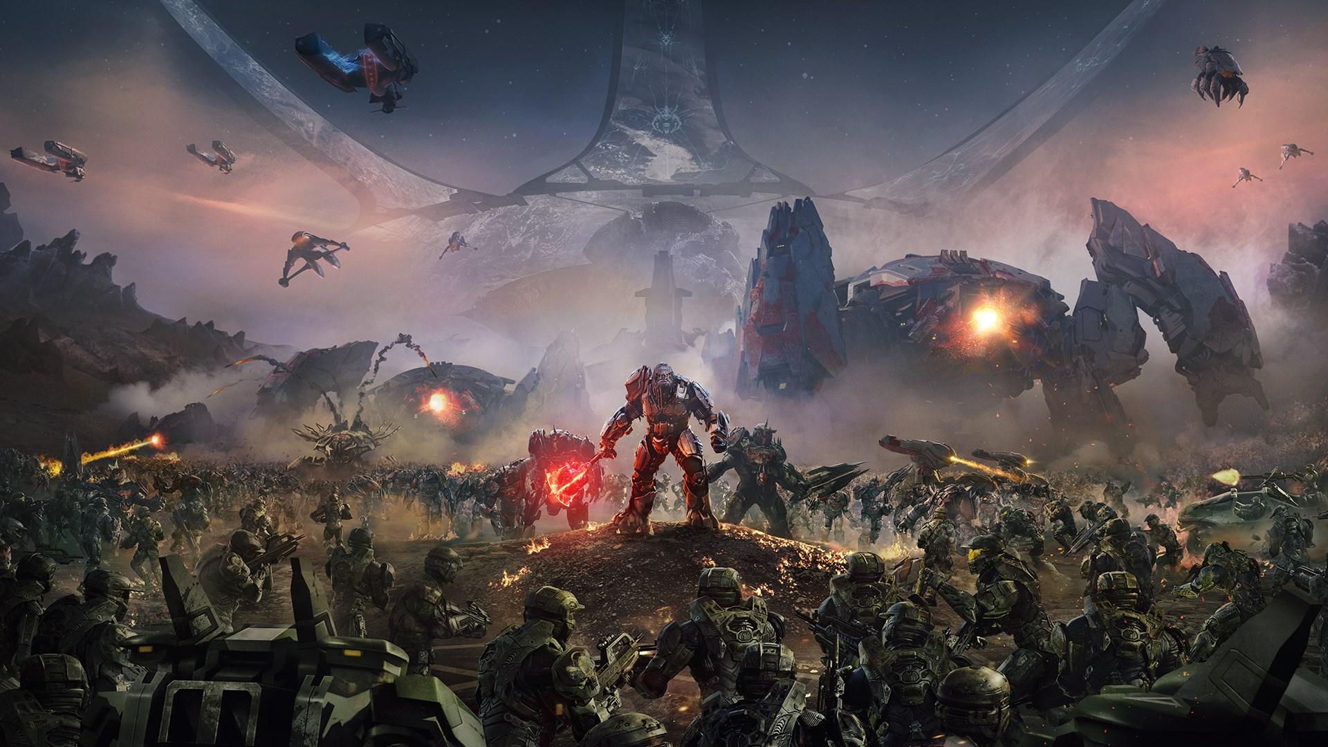 Halo Wars 2: пользовательская боевая раскраска