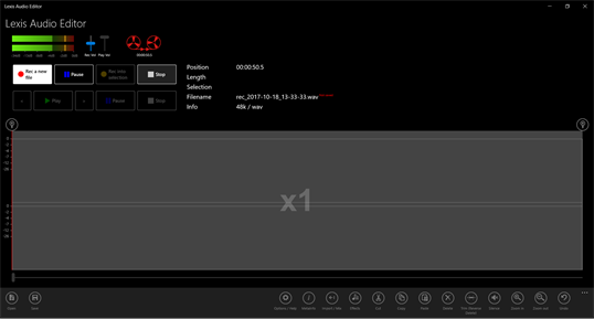 Lexis Audio Editor for Windows 10 PC Free Download - Best