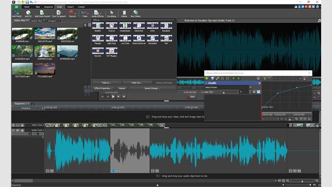 videopad editor free export