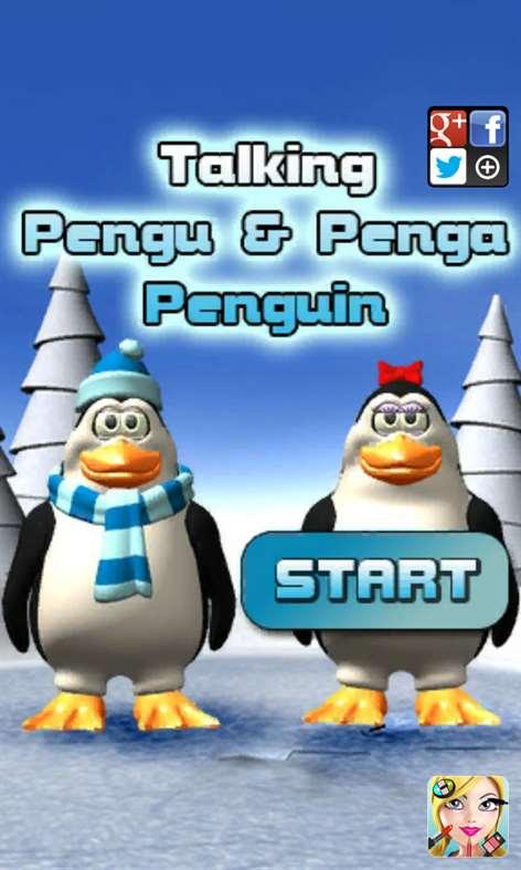 Talking Pengu and Penga Penguin Screenshots 1
