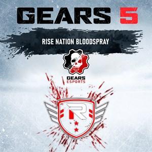 Jato de Sangue com cores da Rise Nation Xbox One