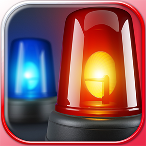 Police Sound & Siren Warning Sounds Effect Button Free
