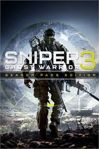 Carátula para el juego Sniper Ghost Warrior 3 Season Pass Edition de Xbox One