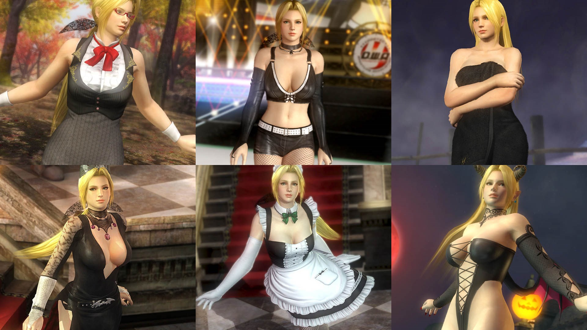 DOA5LR Ultimate Helena Content