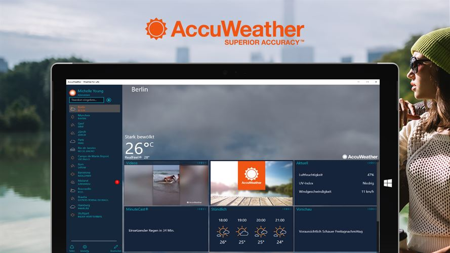 AccuWeather - Weather for Life Screenshot