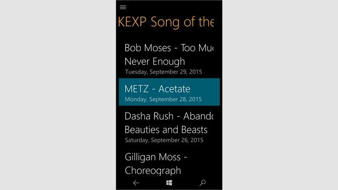 Get KEXP - Microsoft Store