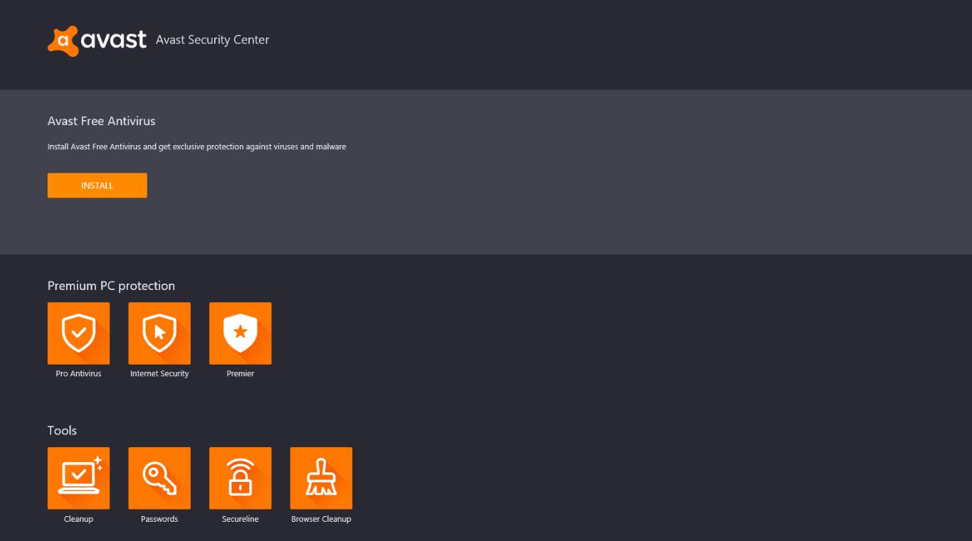 Avast Antivirus Download Center