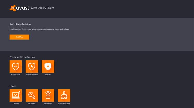 Avast Antivirus Download Center – (Windows Apps) — AppAgg