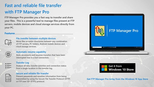 FTP Manager Pro screenshot