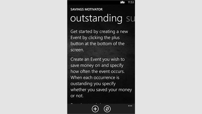 Get Savings Motivator - Microsoft Store en-TT