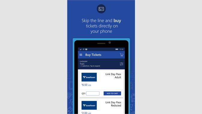 Get Transit GO Ticket - Microsoft Store