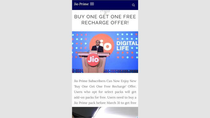 jio store app