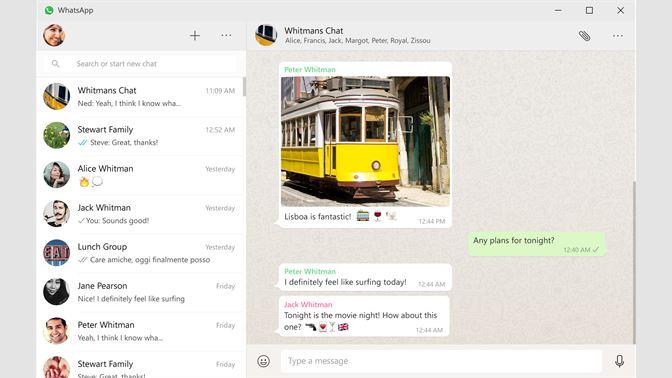 Get WhatsApp Desktop - Microsoft Store