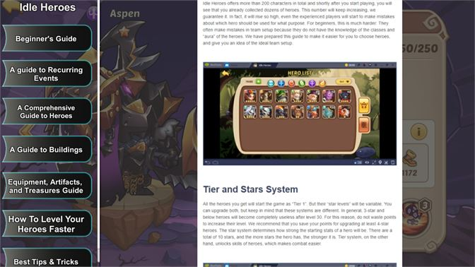 Buy Idle Heroes Guide - Microsoft Store