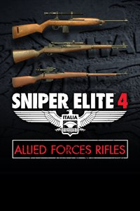Carátula del juego Sniper Elite 4 - Allied Forces Rifle Pack